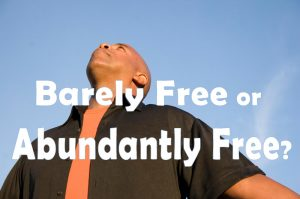 devotional about being free