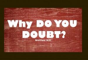 devotional on doubt