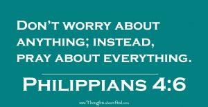 Philippians 4:6 Devotional